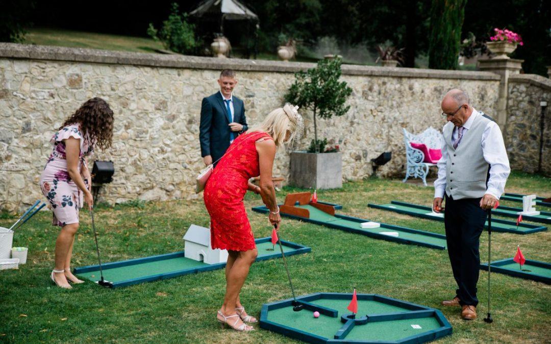 Outdoor Wedding Entertainment