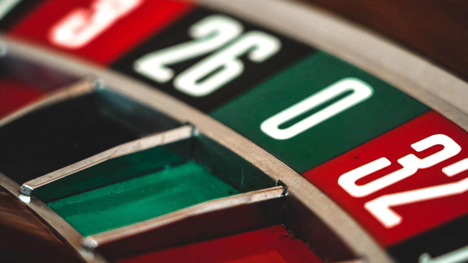 close up roulette wheel