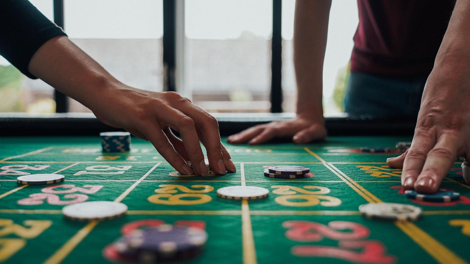 guests playing roulette